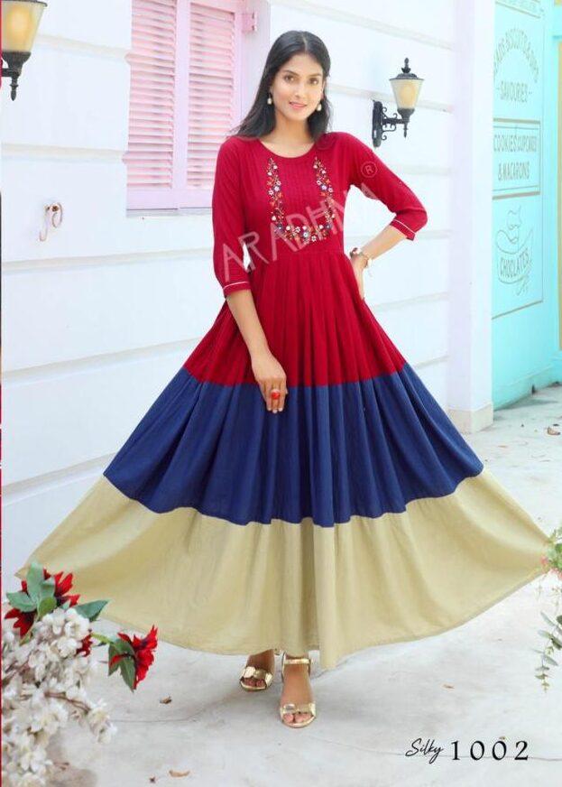 Designer Embroidered Anarkali Dress