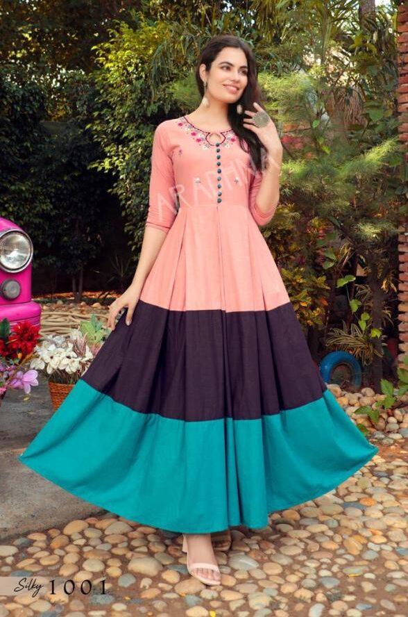 Latest Designer Anarkali Dresses Long