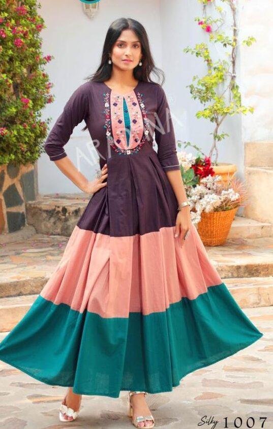 Latest Style Fancy Anarkali Dress for Women
