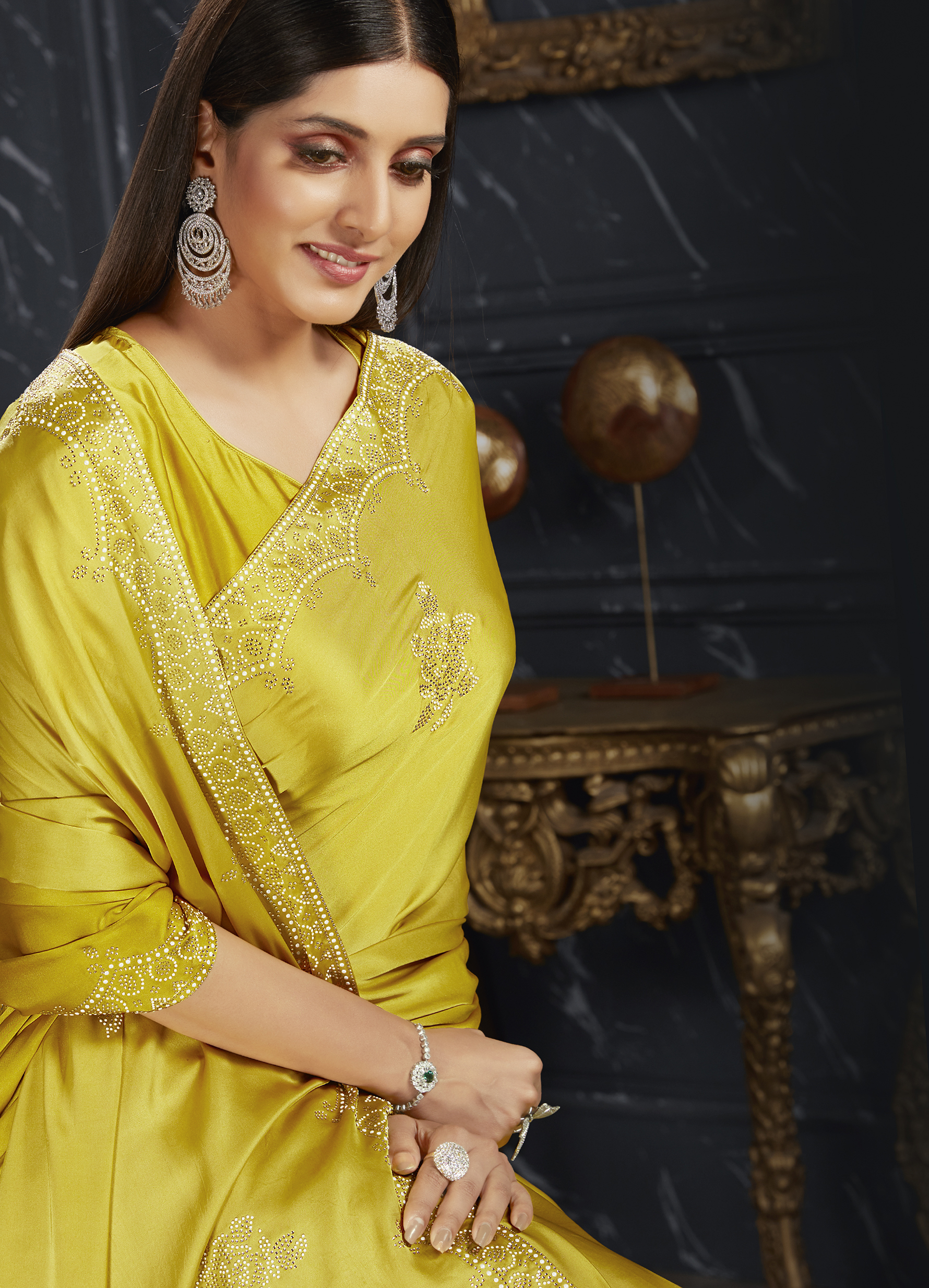 New Designer Party Wear Saree with Price