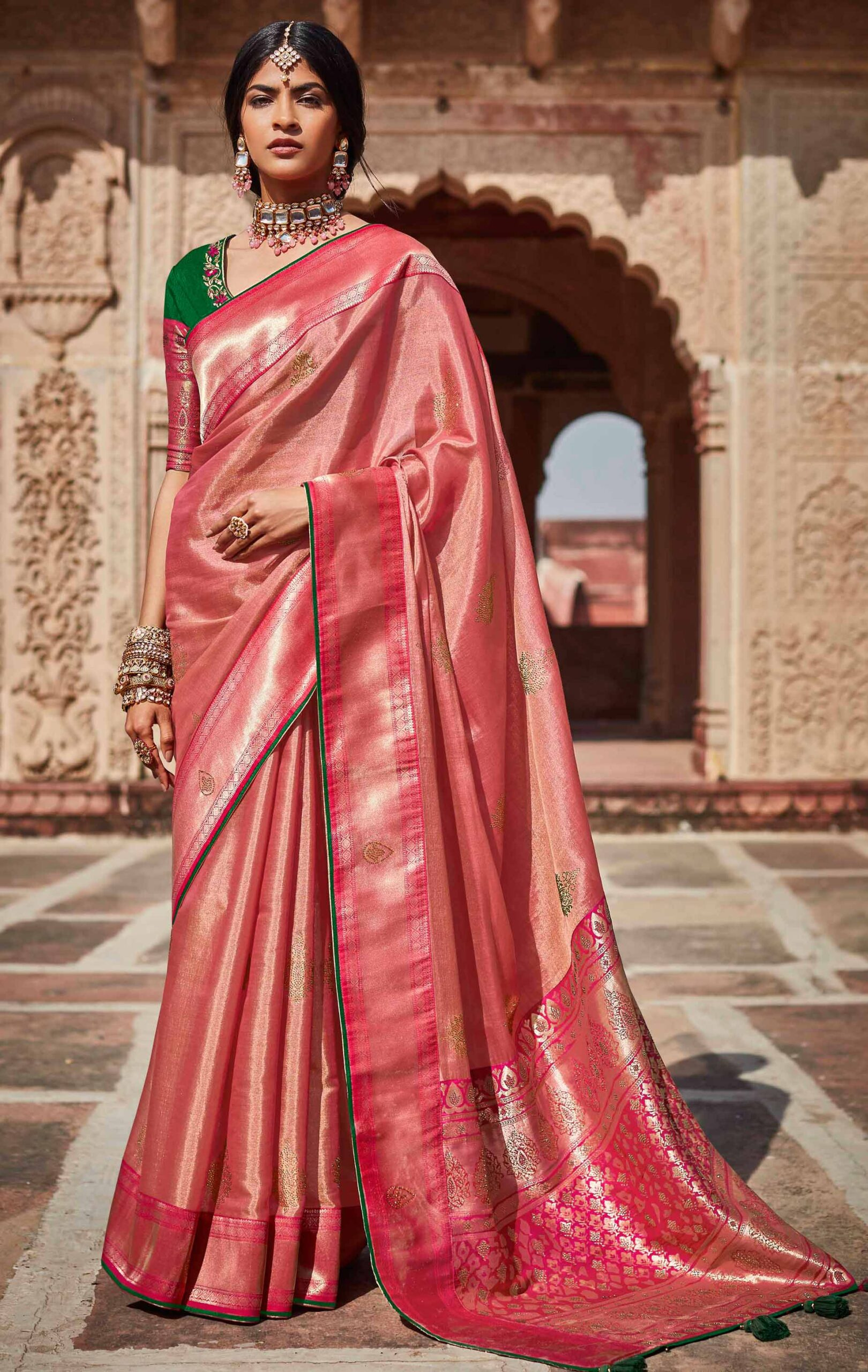 Saree New Style for New Bride