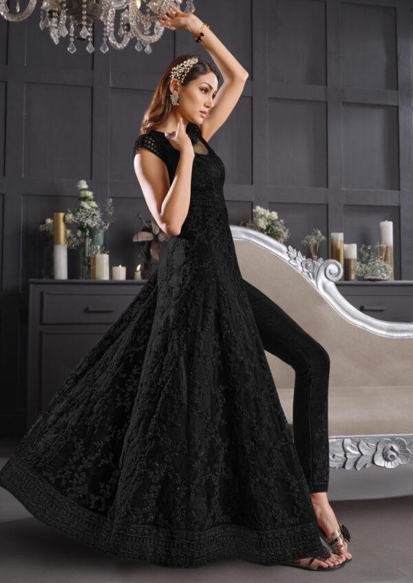 black wedding dress Indian