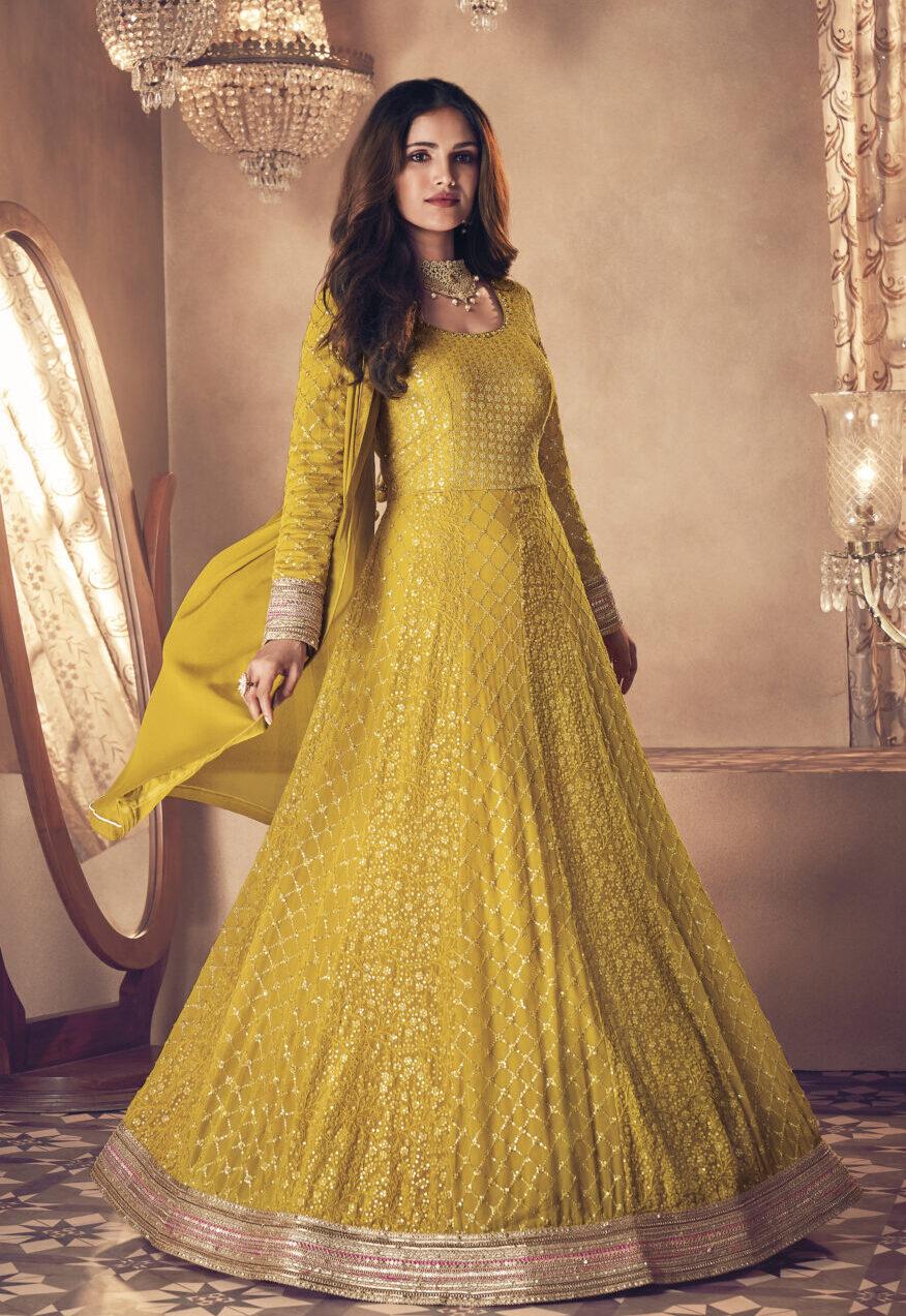 Latest Designer Haldi Function Dresses Online