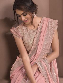 New Fancy Saree for Wedding