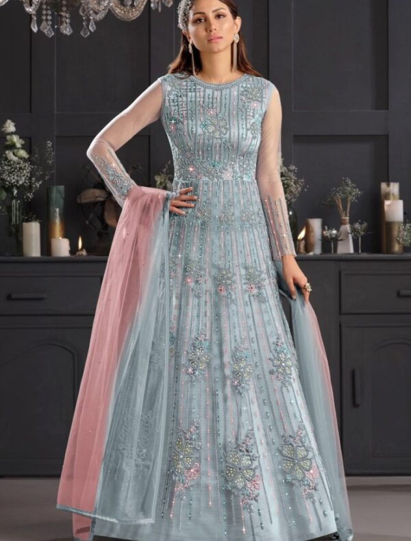 Anarkali gown for wedding