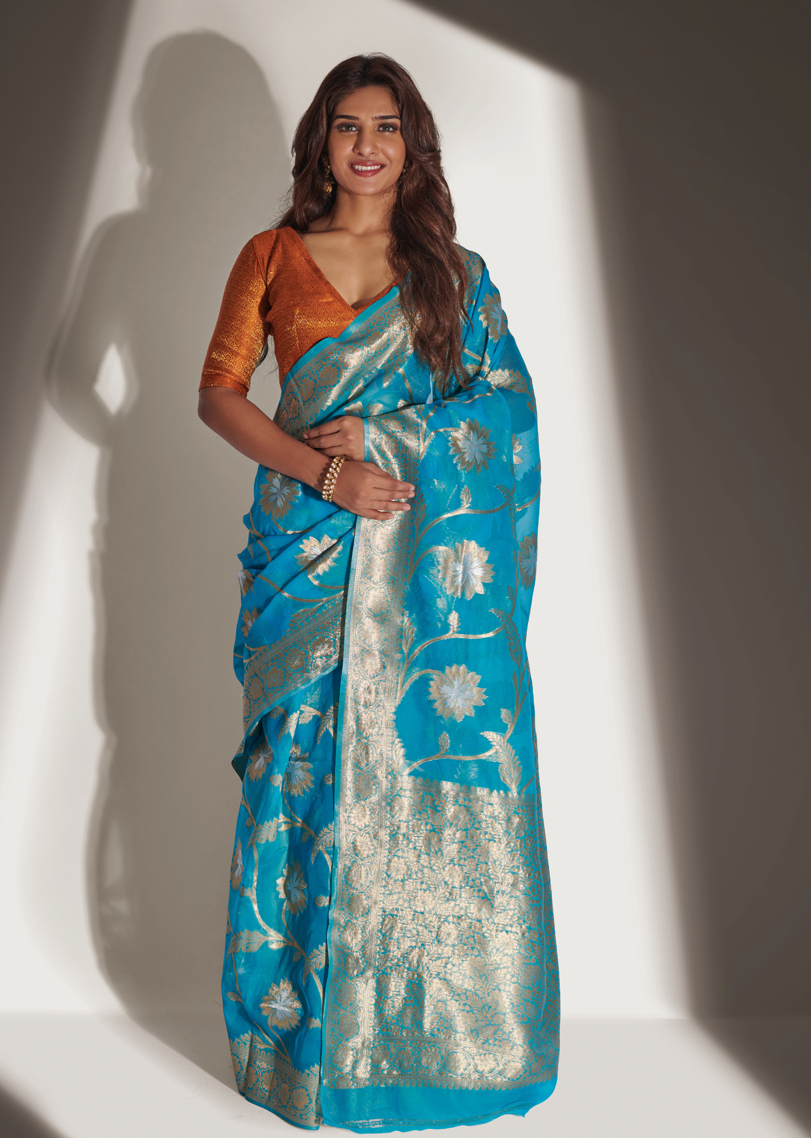 Organza Silk Saree Online with Price
