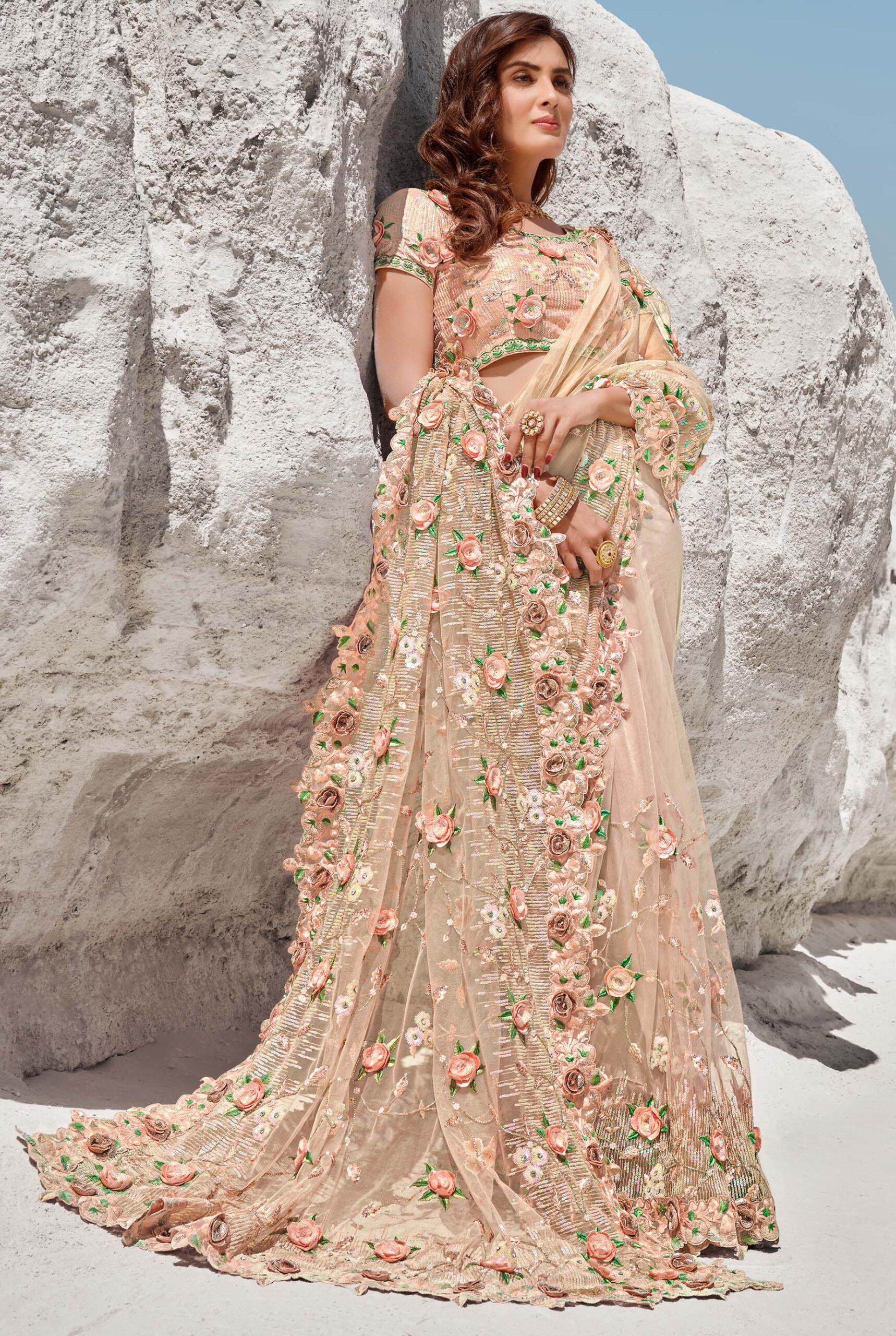 latest wedding sarees collection 2021