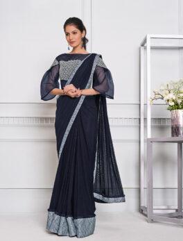 Best Essence New Saree Design 2021