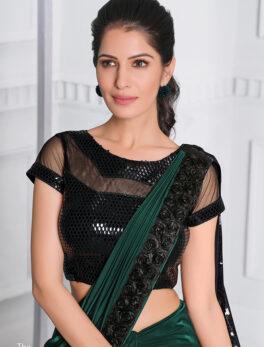 Latest reception sarees for wedding