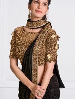 New Fashion Lycra saree design