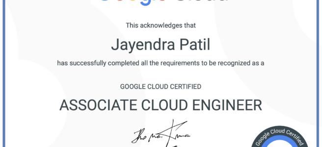 Google Cloud - Associate Cloud Engineer