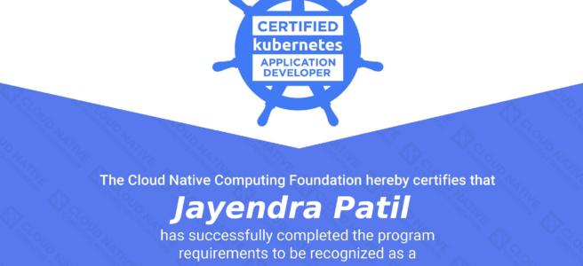 CKAD Certification