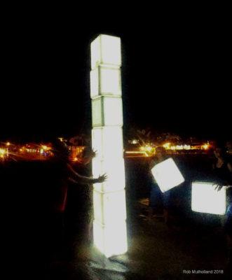 Box light installation