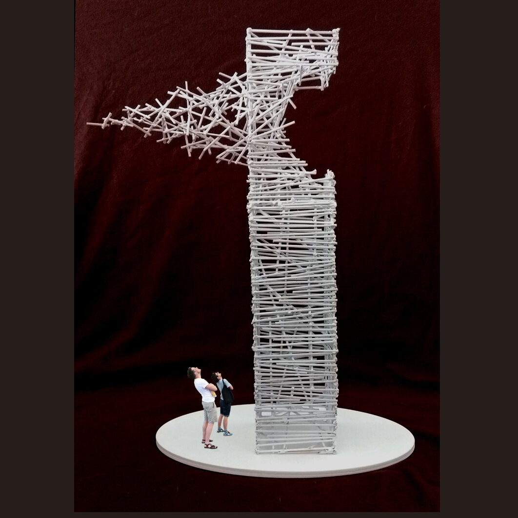 New sculpture by Rob Mulholland for entrance to Cypress Waters, Dallas USA