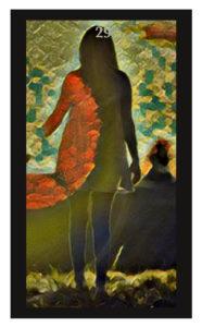 Lenormand Woman Card