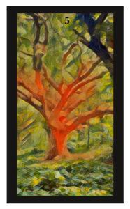 Lenormand Tree Card