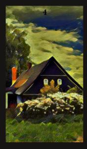 Lenormand House Card