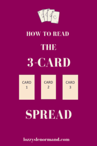 How To Read 3-Card Spread