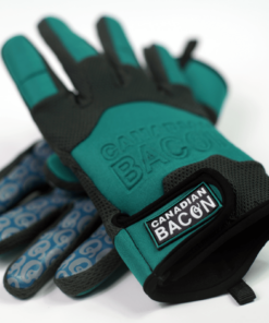 Guantes Canadian bacon