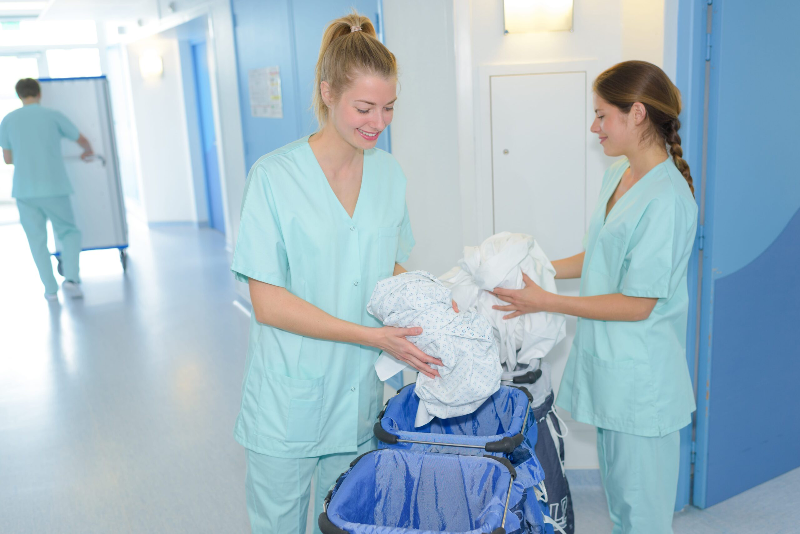 Keeping care homes clean