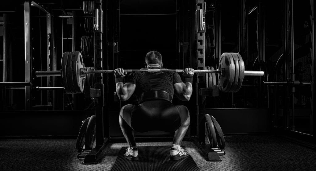 low bar squat for strength training