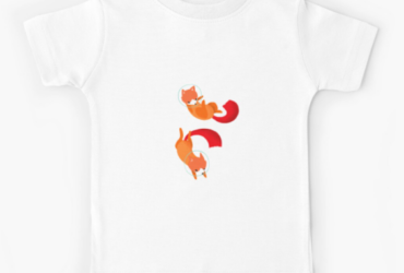 Space Foxes Kids T-Shirt