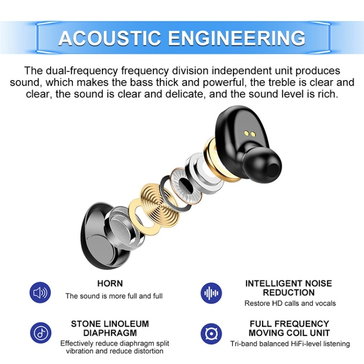 Touch Bluetooth Earphone
