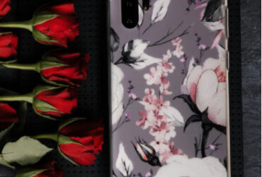 PARADISE ROSE LIGHT GRAY PHONE CASE (IPHONE AND SAMSUNG)