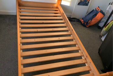 Sturdy Wooden Single Bed