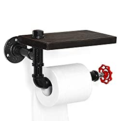 Toilet Holder, Toilet Roll Tissue Holder Stand Wall Mounted