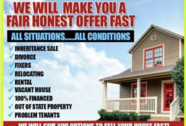 We Buy Unwanted Property. FAIR OFFER – FAST CLOSE