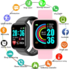 Smartwatch Heart Rate Blood Monitor