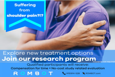 Shoulder Pain – Paid Research Study