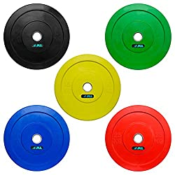 JLL® Olympic Bumper Weight Lifting Plates
