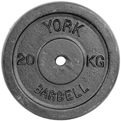 York Fitness Single Cast Iron Plate Weight Plate