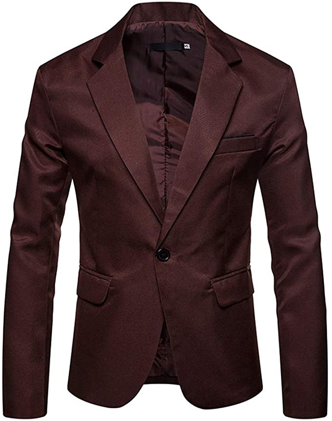 YOUTHUP Mens Casual Blazer