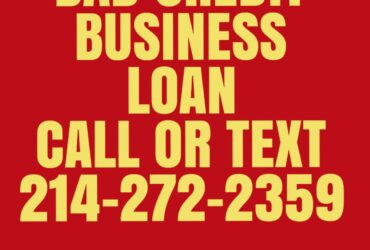 Business funding of up to 25k and up even with bad credit