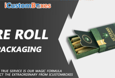 Why IcustomBoxes For Custom Pre Roll packaging