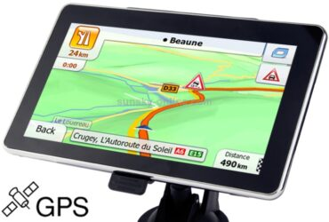 Touch-screen Car GPS