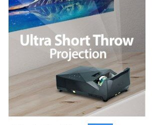 Portable ust projector