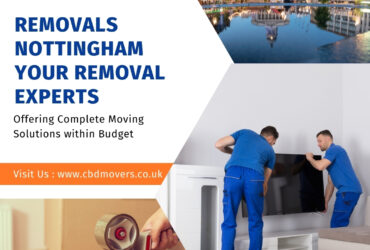 Removals Nottingham- Your Removal Experts