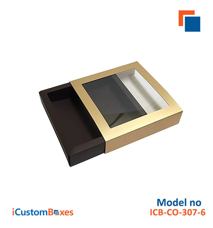 Window Gift Boxes with low Prices are available at ICustomBoxes