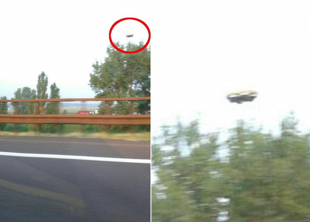 avvistamento ufo autostrada a1
