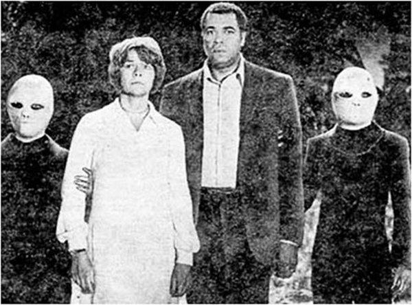 Clerk Barney Hill e sua moglie Betty