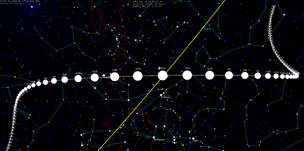 percorso cometa 46Pwirtanen
