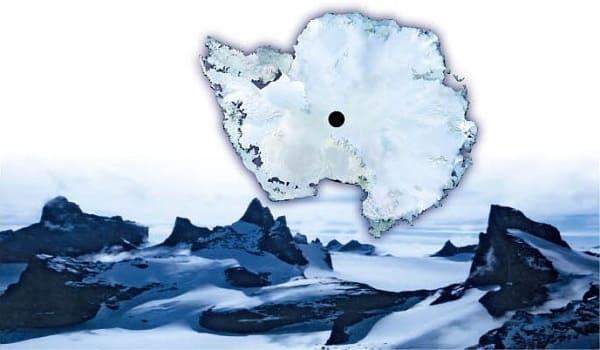 polo sud dell'Antartide