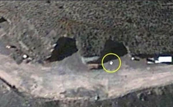 Area 51 base Tonopah Test Range S4