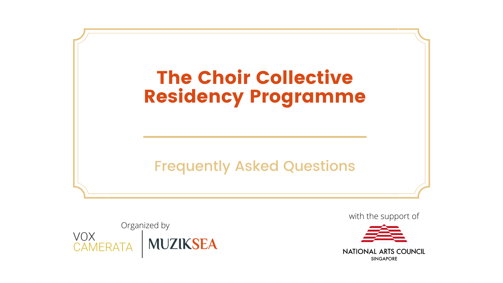 The Choral Collective Residency Programme (FAQs)