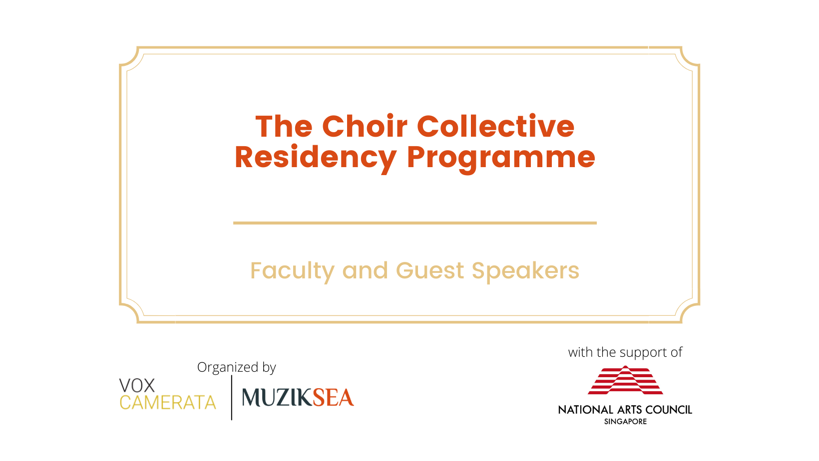 Choral Collective Residency Programme: Faculty & Guest Speaker Biographies