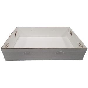 Box Lock Corner Tray